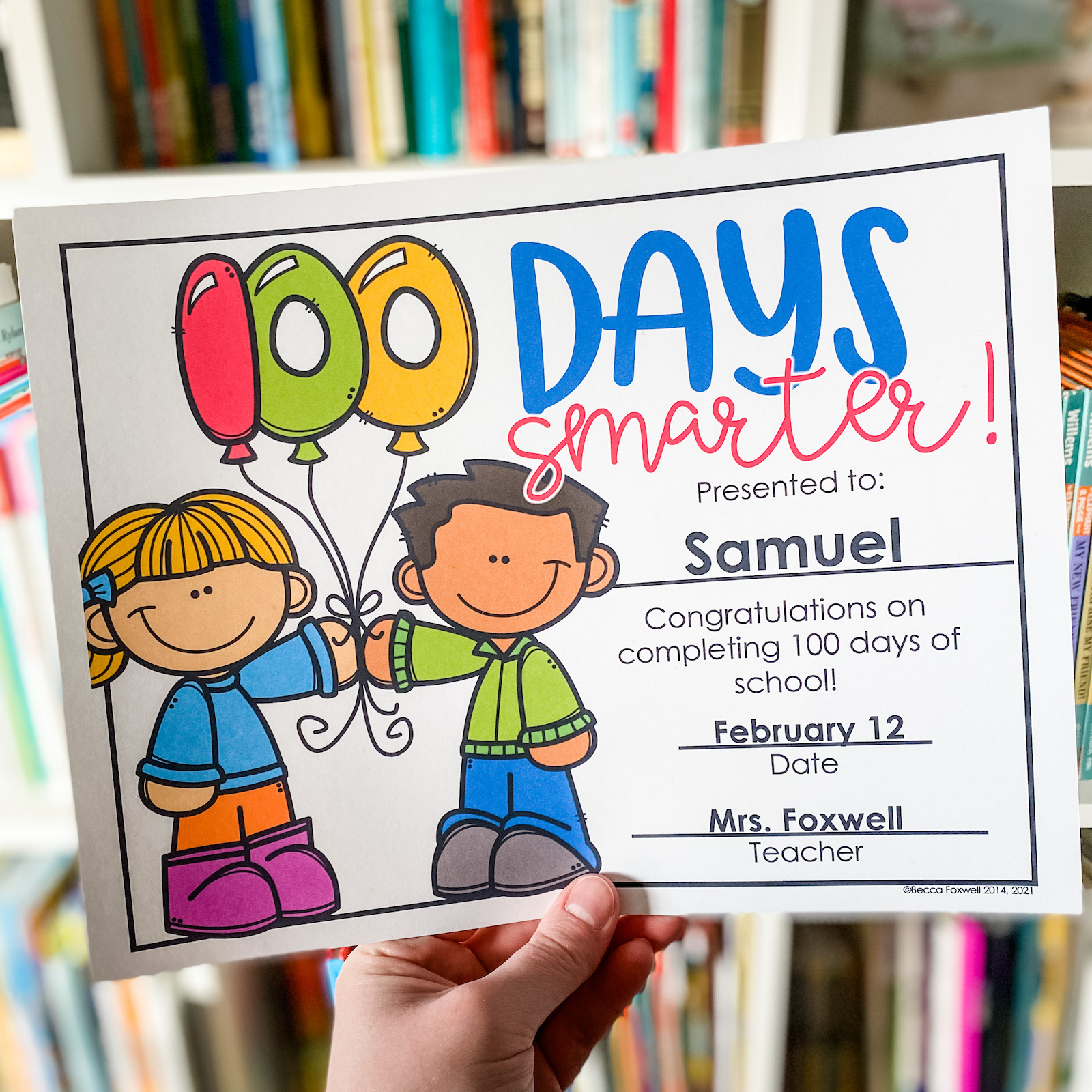100th Day Of School Activities For Primary Grades Foxwell Forest